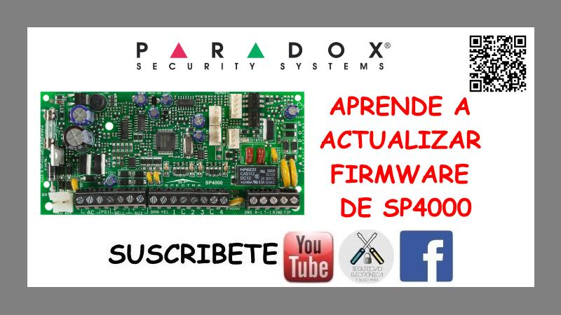 APRENDE A ACTUALIZAR FIRMWARE DE SP4000