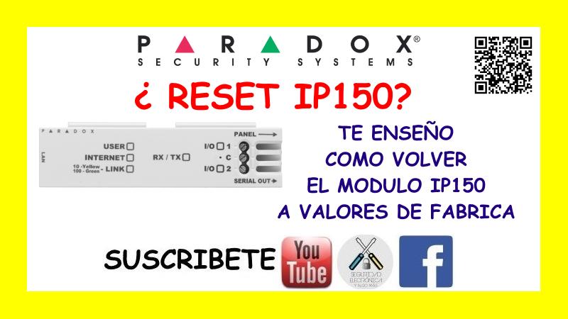 RESET IP150