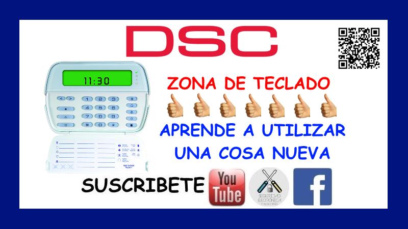 ZONA TECLADO DSC