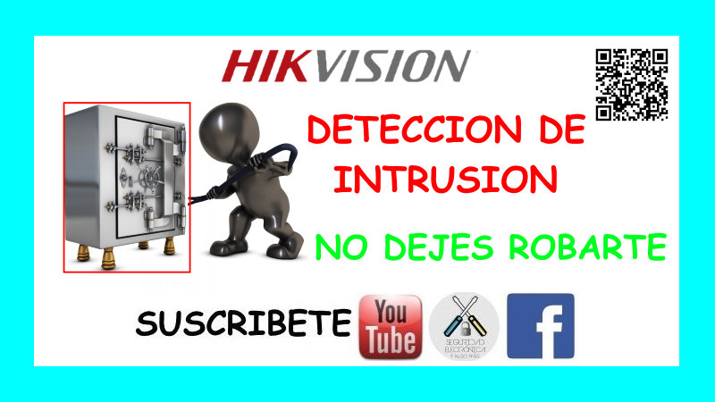 DETECCION INTRUSION HIKVISION