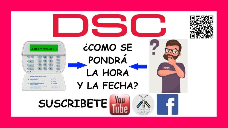 HORA Y FECHA DSC