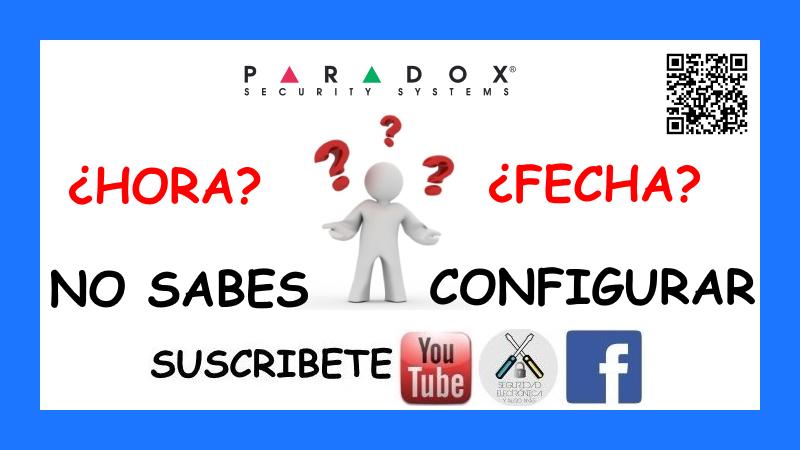 HORA Y FECHA PARADOX