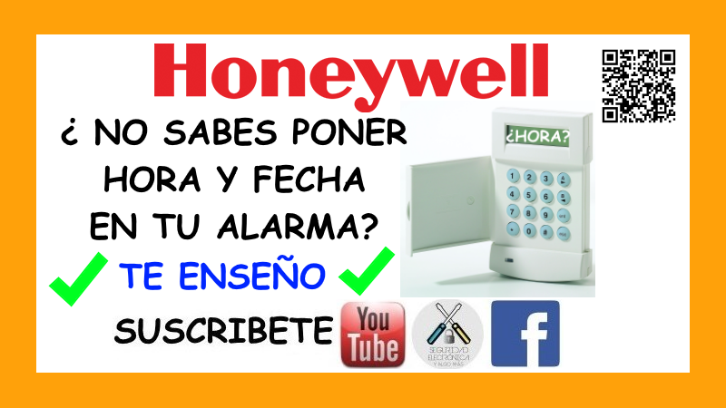 HORA FECHA HONEYWELL GALAXY