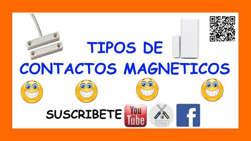 TIPOS CONTACTOS MAGNETICOS